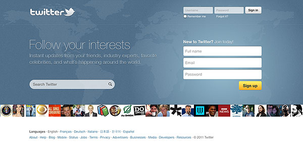 new-twitter-home-page